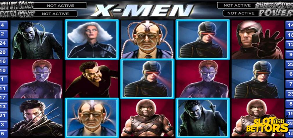 X-men Slot gameplay