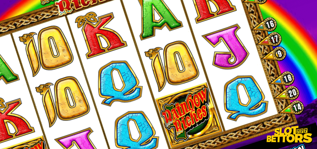 Rainbow Riches Slot Gameplay