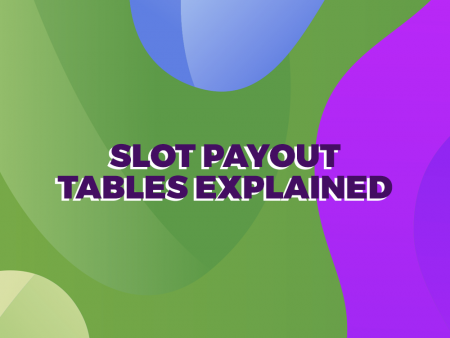 How to Read Online Slot Payout Tables
